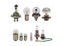 Лампа Zollex габаритов 1 конт P21W 12V желтая (10шт) (9124)