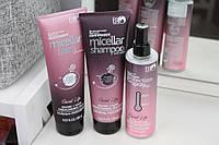 Набор Белорусской косметики для волос Bioworld, укрепление Keratrix+Муцин, шампунь+бальзам, термозащита