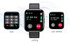 Фітнес браслет трекер Smart Band T99S Розумні спортивні смарт годинник з мікрофоном для здоров'я вологозахист, фото 5
