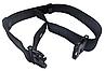 Пояс разгрузочный тактический ремень XL РПС-50 (синтетический,чёрный), фото 2