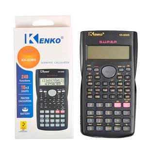 Калькулятор карманный инженерный, 240 функций, 10-разрядный, KK-82MS