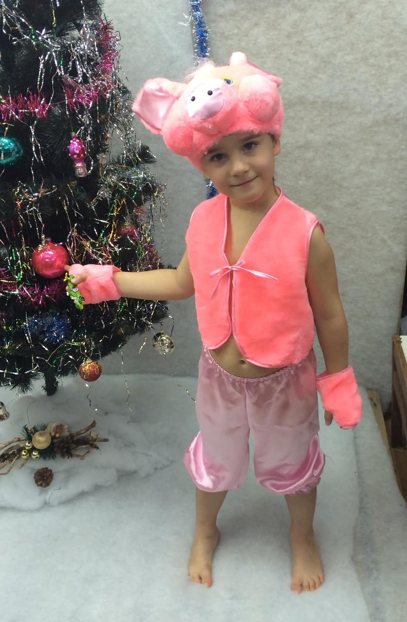 Детский новогодний костюм хрюша