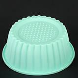 Форма для кекса, силикон, фото 4