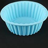 Форма для кекса, силикон, фото 3