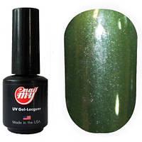 Гель-лак My Nail System №169 - бутылочно-зеленый с шиммером, 9мл