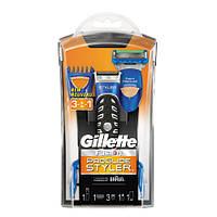 Gillette ProGlide Styler Стайлер + 1 картридж Power + 3 насадки для моделирования усов/бороды