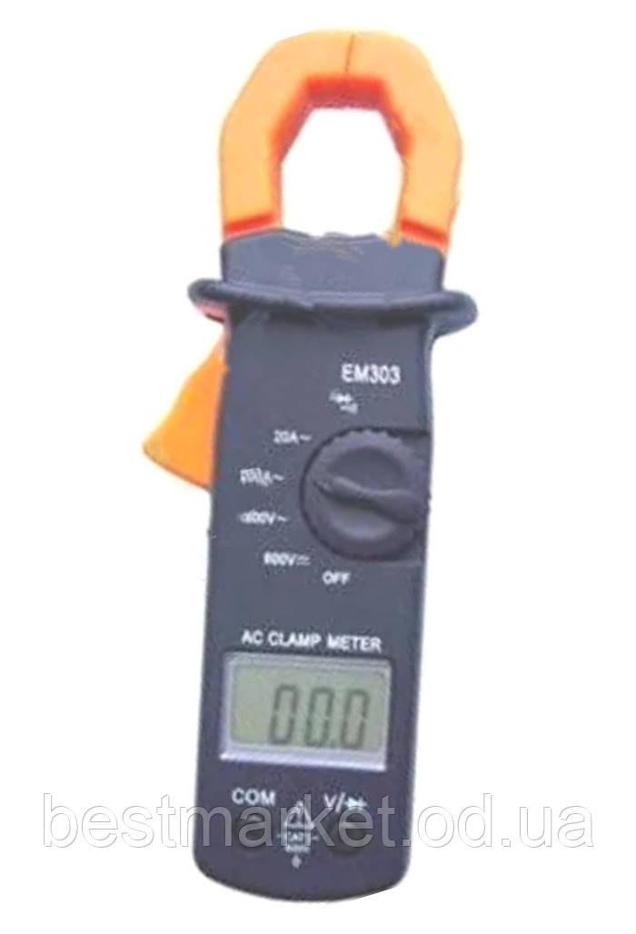Мультиметр Тестер EM-303 Токоизмерительные Клещи
