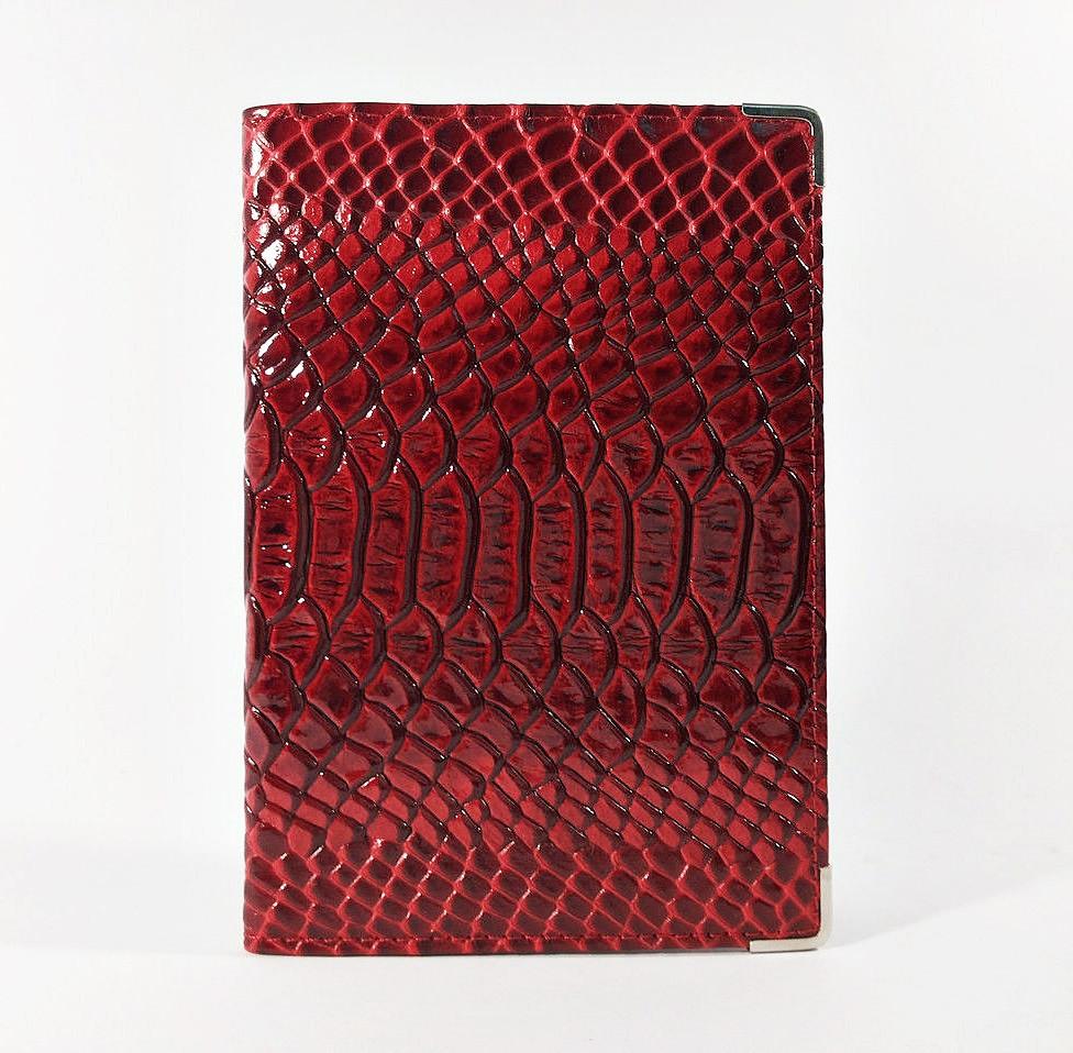 Обложка для паспорта кожаная женская бордо Desisan Турция