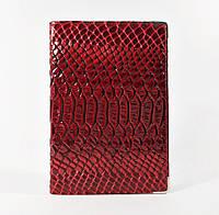 Обложка для паспорта кожаная женская бордо Desisan Турция , фото 1