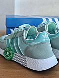 Жіночі кросівки Adidas Marathon Tech (turquoise), фото 7