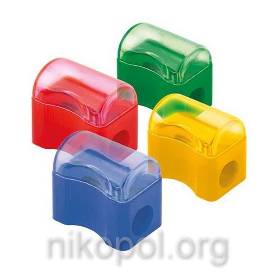 Чинка пластикова Delta by Axent Comfy D9702 з контейнером