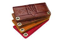 Кожаный кошелек ручной работы., фото 1