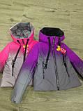 Демисезонная светоотражающая куртка 36-42р от производителя, фото 5
