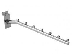 Кронштейн накл., с 7ю шариками, L=260мм, пров. Ø6,5мм
