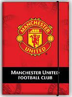 Папка для тетрадей (FC Manchester United, Kite, А4 на резинке, картон, MU14-211K)