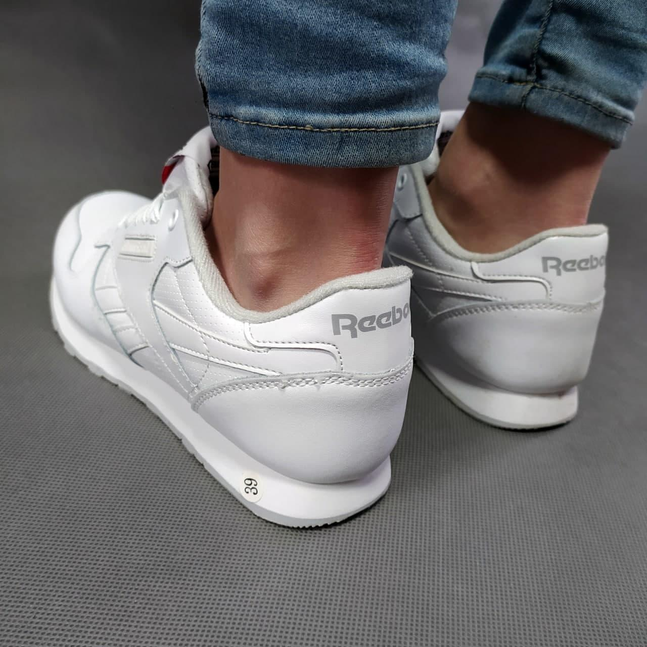 Жіночі кросівки Reebok білі