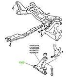 15-02 Сайлентблок переднего рычага передний Mitsubishi Lancer (CS, CT#) 2000-; MR403419, фото 3