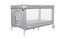 Манеж - кровать Carrello Piccolo с сумкой Ash Grey