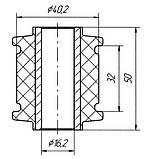 17-23 Сайлентблок продольной тяги задней подвески задний Mazda 626 GC; GE6028200; G11628300B, фото 2