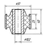 18-09 Втулка заднего амортизатора Honda Accord 52622SM4003; 52622SM4004, фото 2