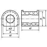 20-04 Втулка заднего стабилизатора внутренняя (ф22) Iveco Turbodaily, New Daily, Restyling;, фото 2