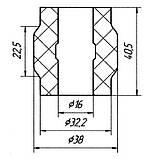 20-05 Втулка заднего стабилизатора наружная (ф16) Iveco Turbodaily, New Daily; 093803960, фото 2