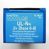 UL-N+ (натуральный +) Осветляющая стойкая крем-краска для волос Matrix Socolor.beauty Ultra Blonde,90ml, фото 2