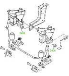 24-06 Сайлентблок кабіни 16,2x60,5x40x68 Renault (Track) Kerax, Midlum, Premium, Sisu; 5010316015, фото 3