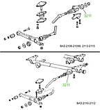 32-11 Подушка переднього шарніра ВАЗ 2108 — 21099, 2110 — 2112, 2113 — 2115; 2108-2904050, фото 3