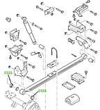 03-33 Сайлентблок задней рессоры передний усиленный Ford Transit TT9 (GCAT) 2006-; 6C165781AA; 1453843, фото 4