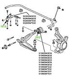 18-13 Сайлентблок переднего рычага передний Honda Civic FN, FK hatchback 2006-2013; 50280SMGE02, фото 3