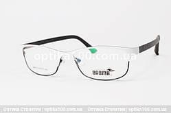 Біла оправа окулярів для зору з легкими гнучкими дужками