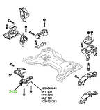 24-30 Сайлентблок верхньої опори двигуна Trafic 2; Vivaro; Primastar; 8200049243; 4411938; 91167993, фото 3
