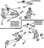 18-31 Сайлентблок заднего рычага Honda Civic FB, CR-V, FR-V; 52370SJH010; 52370SWAA01, фото 3