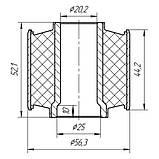 25-07 Сайлентблок переднего рычага задний Subaru Legaci, Impreza, Forester; 20201FA030; 20201FA040, фото 2