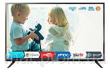 Телевизор Romsat 43USK1810T2 (LED 4К Android SMARTизор, 43 дюйма с цифровым тюнером DVB-T2 / C)