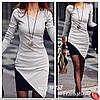 Стильное асимметричное платье