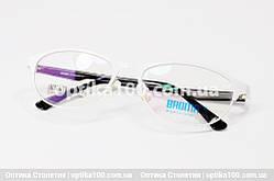Біла оправа для окулярів