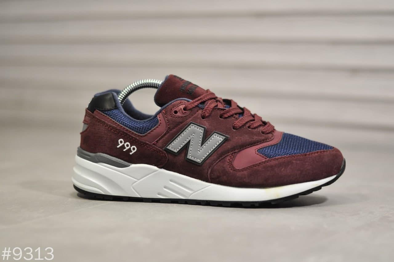 Кросівки New Balance 999 Bordo 9313