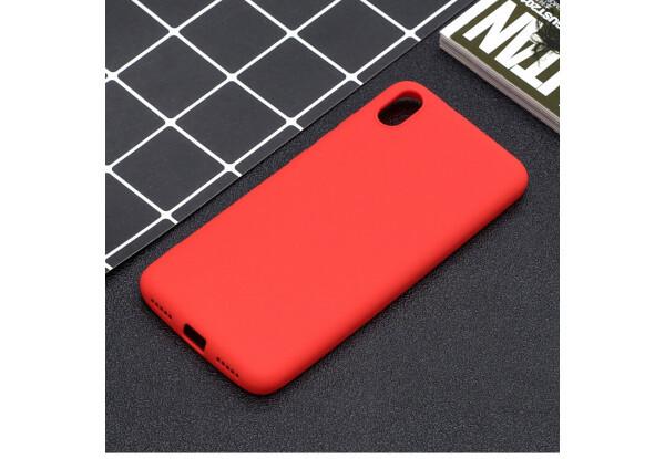 Силіконова Накладка SMTT - Soft Touch для Xm Redmi 7A червоний