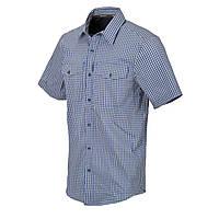 Рубашка с коротким рукавом Helikon-Tex® Covert Concealed Carry Short Sleeve Shirt - Royal Blue Checkered 3XL