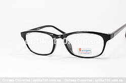 Оправа для окулярів чорна. Невелика. На середнє особа