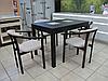 Стол кухонный обеденный Лос Анджелес прямоугольный раскладной  / БИФОРМЕР