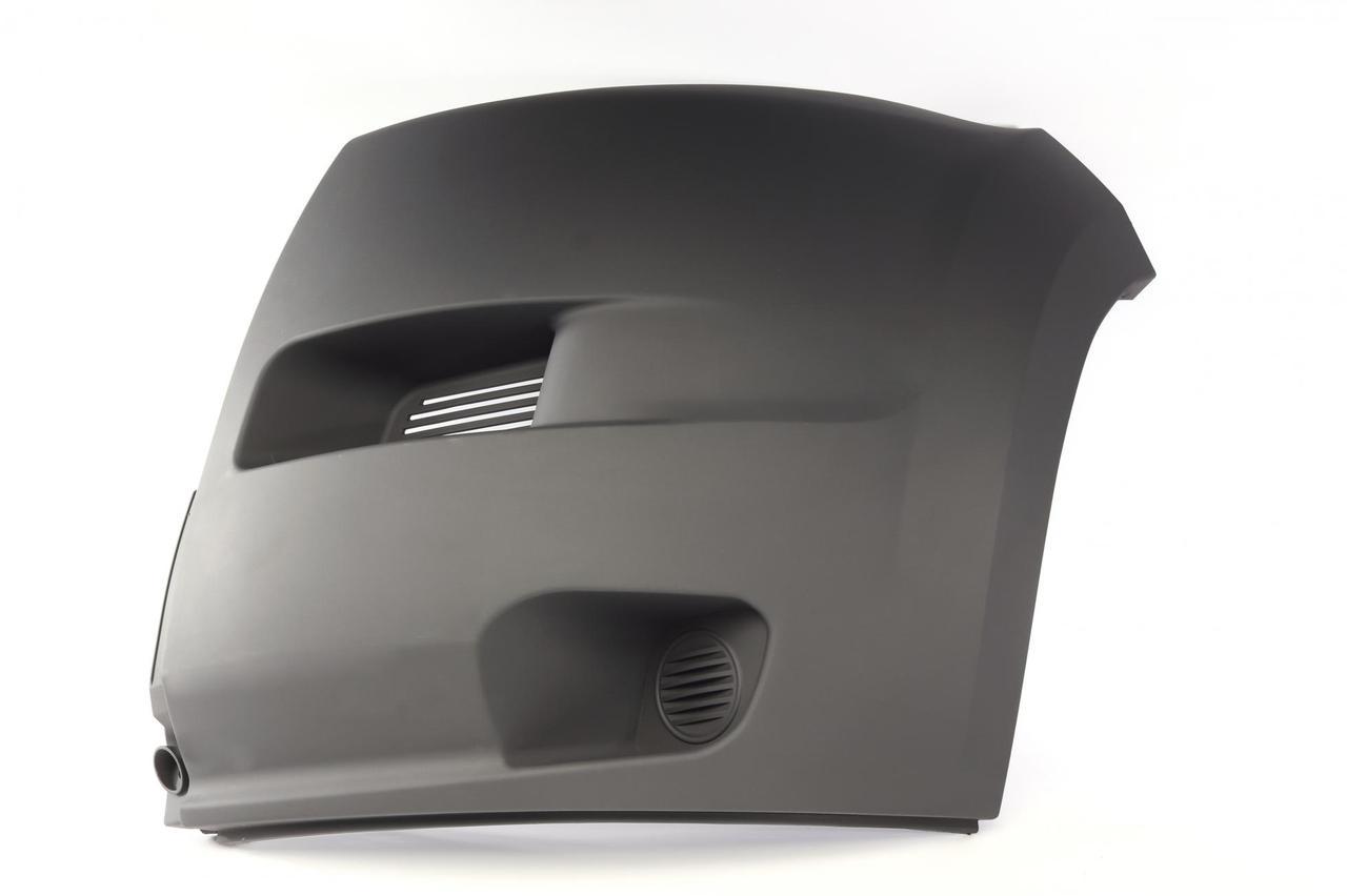 Ікло переднього бампера (лівий) (кут, накладка, рама) Citroen Jumper/ Fiat Ducato/ Peugeot Boxer 06-14