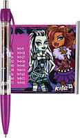 Ручка шариковая (Monster High, Kite, синий, шпаргалка, автомат, MH14-034K)