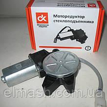 Моторедуктор склопідіймача ВАЗ 2110 лівий (квадрат) 12В, 30Вт <ДК>