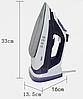 Праска DSP KD1072 паровий бездротовий з керамічної підошвою 2200 Вт, фото 7