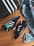 Кросівки Adidas marathon tech black / / Адідас Маратон, фото 4