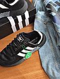 Кросівки Adidas marathon tech black / / Адідас Маратон, фото 2