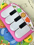 Развивающий коврик-пианино PA318 аналог Fisher Price, Розовый, фото 5